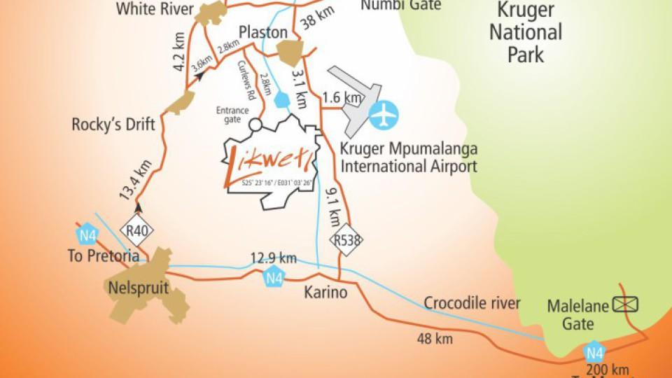Map to Likweti