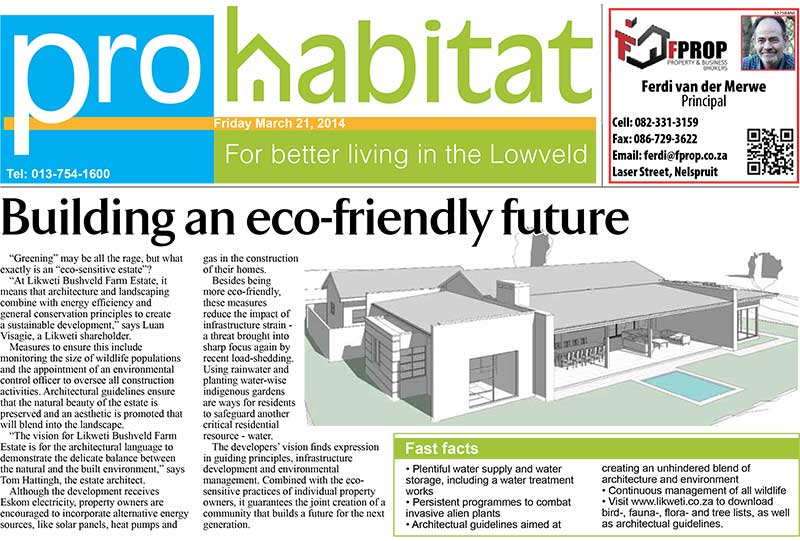 Building an Eco-friendly Future