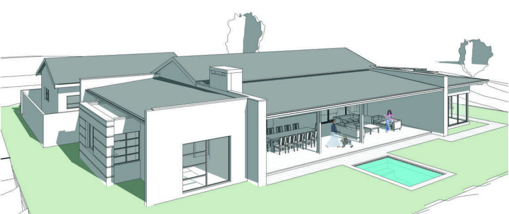 FRONT ELEVATION - New Revised