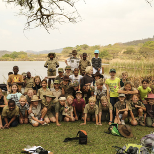 Rangers in the making | Uplands visit Likweti