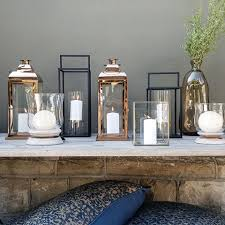 You'll find a stunning selection of lanterns and candle holders at Coricraft